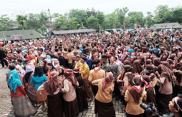 Kodim Nganjuk dan Masyarakat Ikrar Nusantara Bersatu