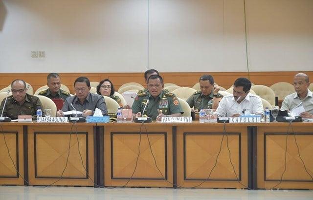 Panglima TNI : TNI Konsentrasi Amankan Pesta Demokrasi Pemilu 2019