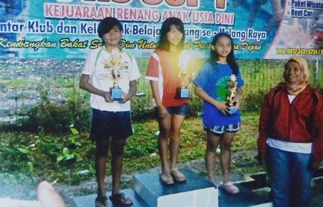 Maya Regina, Calon Atlet Renang Nasional Putri Anggota Yon Armed 1/Roket Kostrad