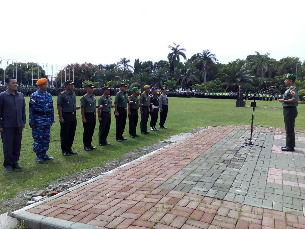 TNI/ Polri Siap Amankan Kunjungan Wakil Presiden RI di Banyuwangi