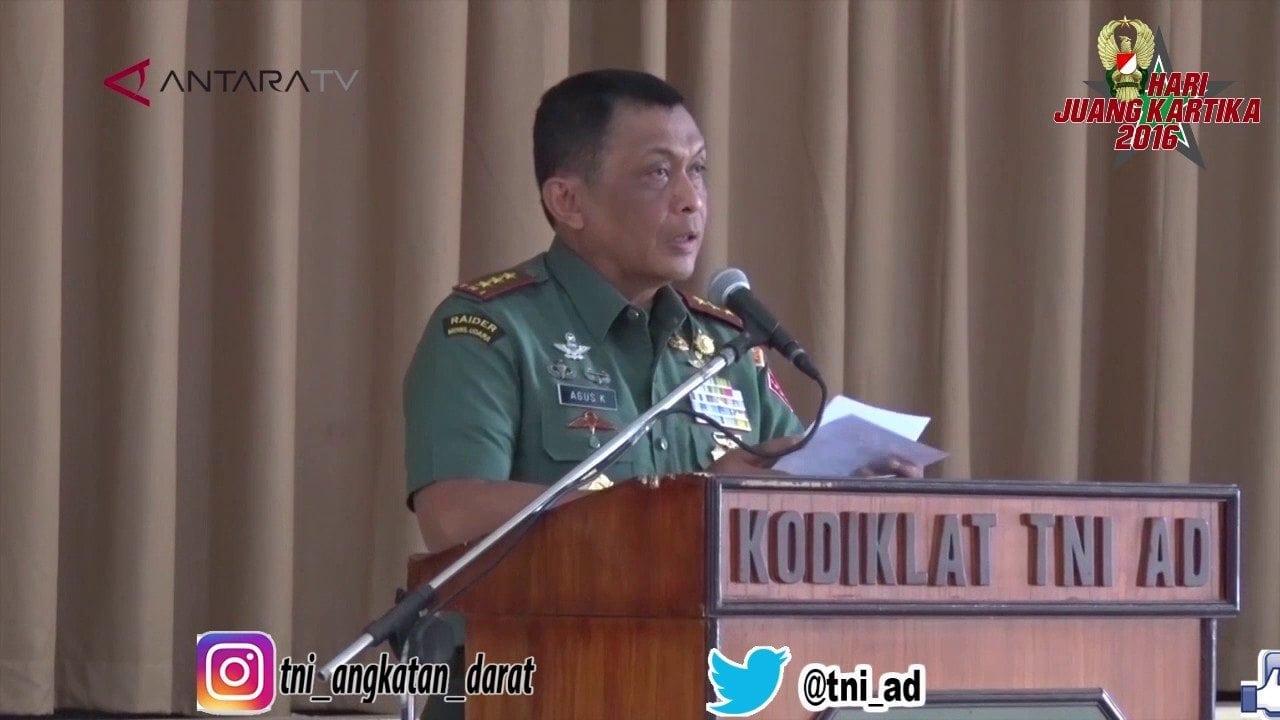 DIRGAHAYU KE 22 KODIKLAT TNI ANGKATAN DARAT