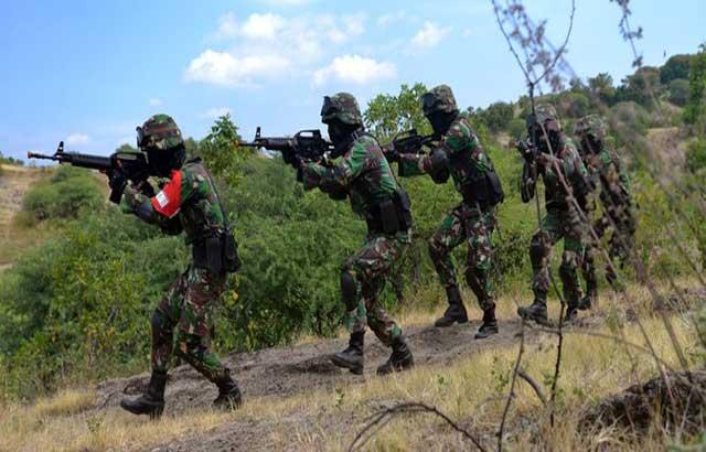 TNI Gagalkan Penyelundupan Narkoba di Perbatasan Kalimantan