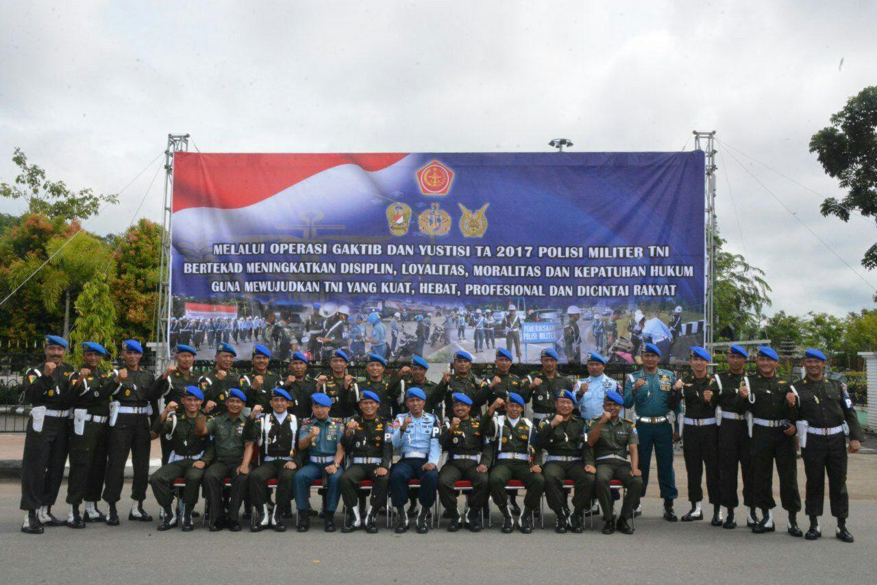Kodam XII/Tanjungpura Gelar Opsgaktib dan Yustisi Tahun 2017