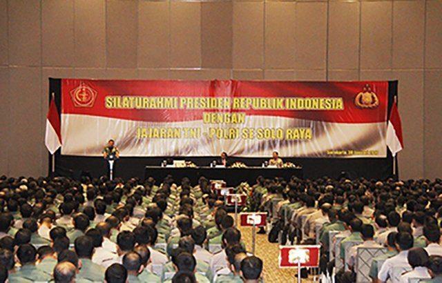 Panglima TNI : Sinergitas dan Soliditas TNI - Polri Merupakan Suatu Kemutlakan