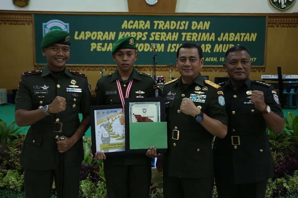 Prajurit Kodam IM Ukir Prestasi Tingkat TNI
