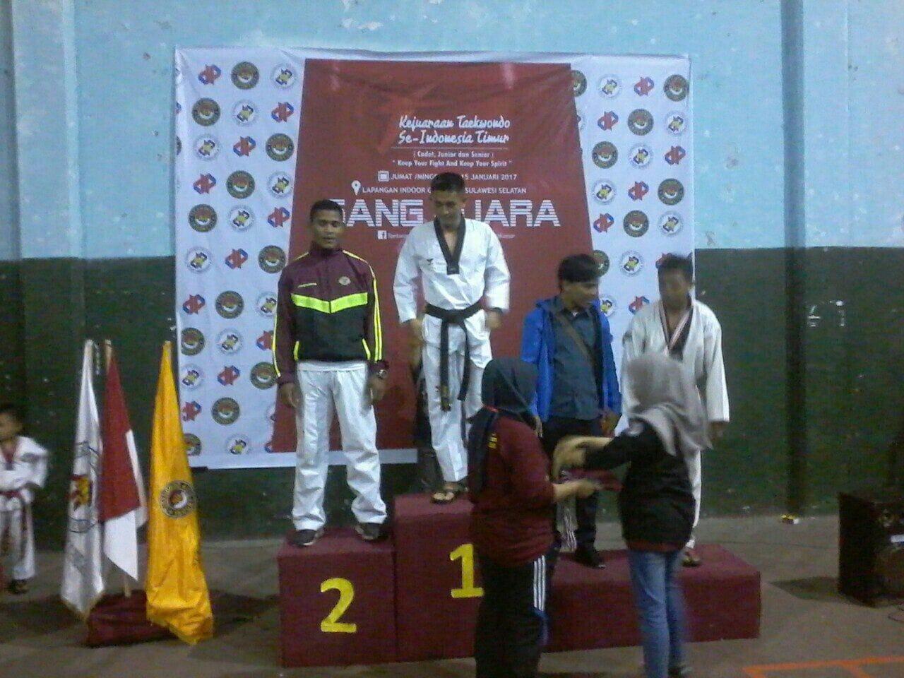 37. Brigif 3 ikuti Kejuaraan Taekwondo Indonesia Timur (1)