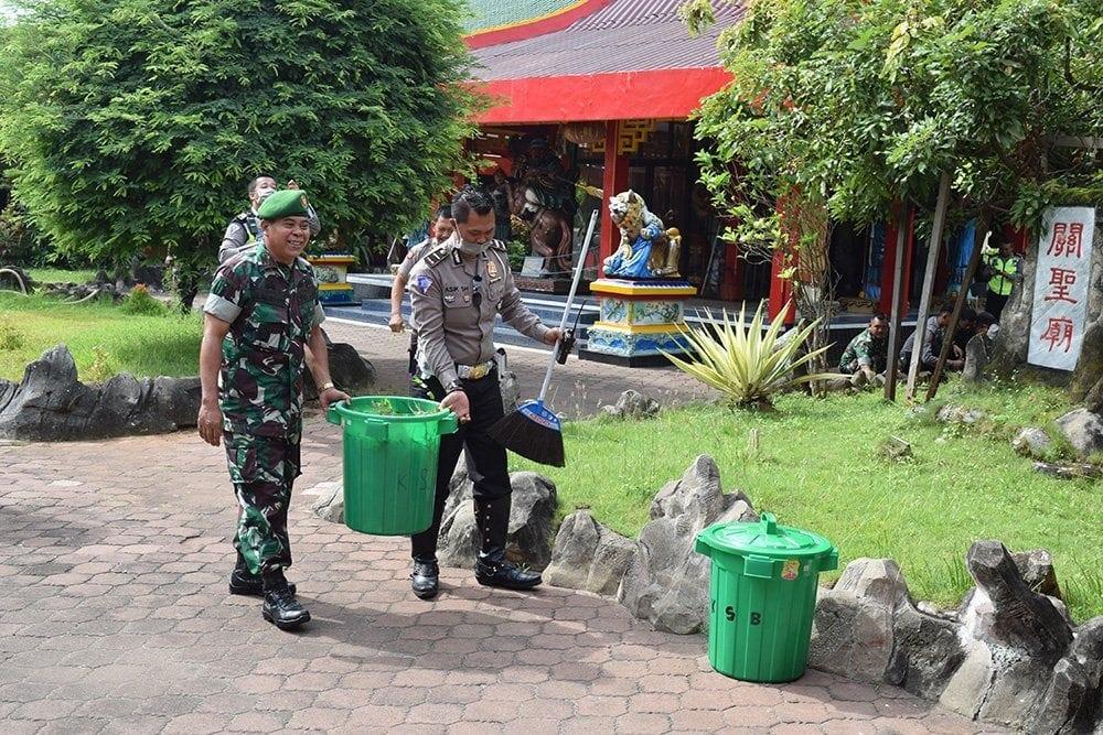 Ini Cara TNI-POLRI Jaga Toleransi