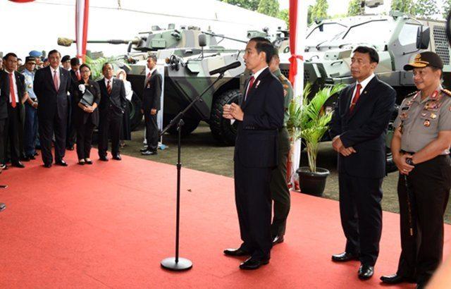 Presiden RI : Industri Pertahanan Harus Kompetitif