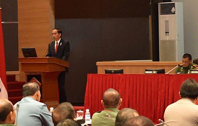 Presiden RI : TNI – Polri Harus Antisipasi Cepatnya Perubahan Dunia