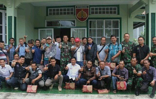 TNI dan Awak Media di Purworejo Selalu Kompak