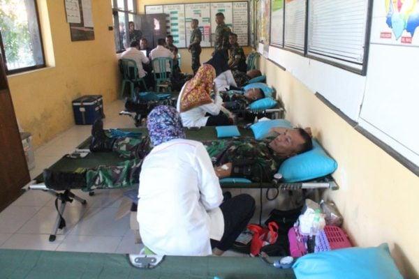 Donor Darah, Wujud Kepedulian Kostrad Kepada Masyarakat Malang