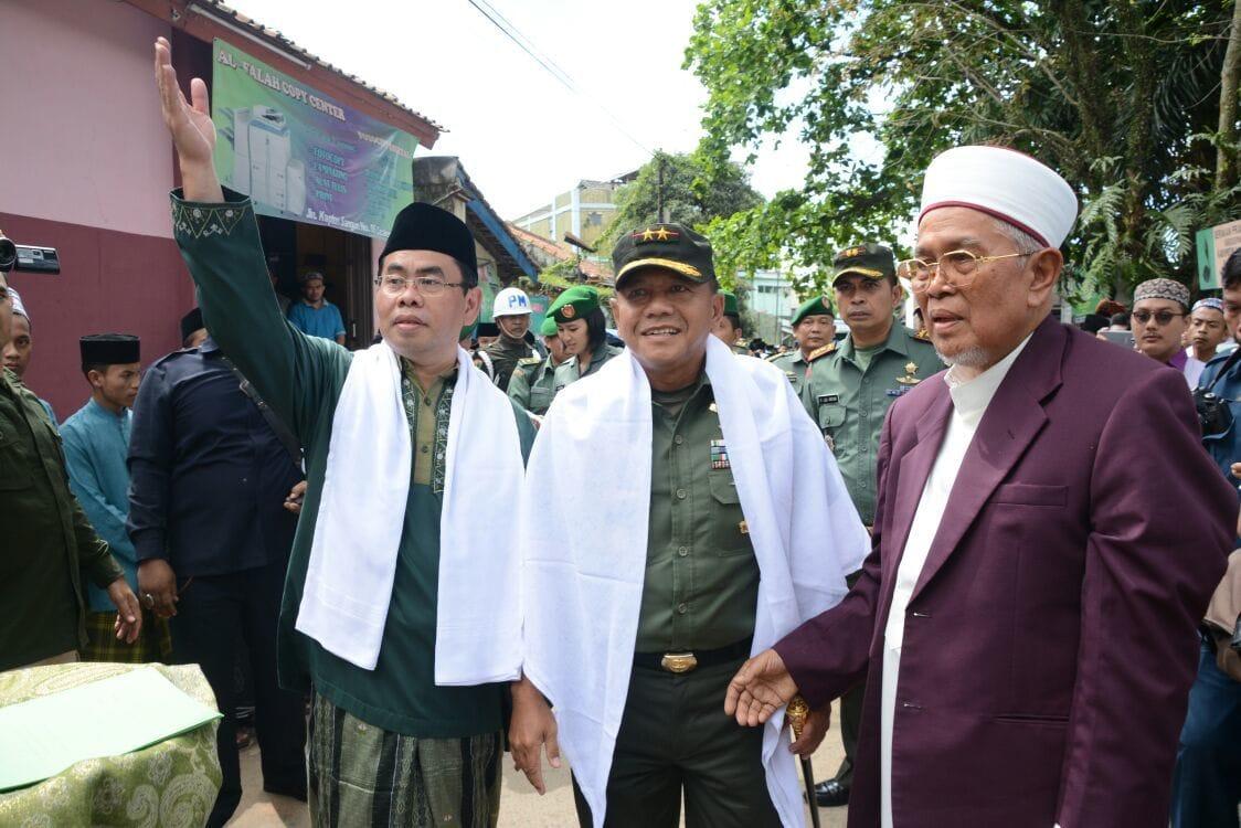 Pangdam III/Siliwangi Silaturahmi ke Pondok Pesantren Al-Falah