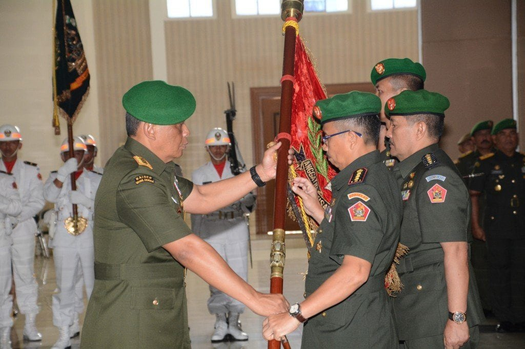 3 Jabatan Strategis di Jajaran Kodiklat TNI AD Diserahterimakan