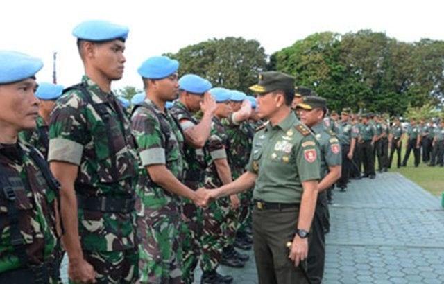 Disiplin Adalah Nafas Bagi Seorang Prajurit TNI
