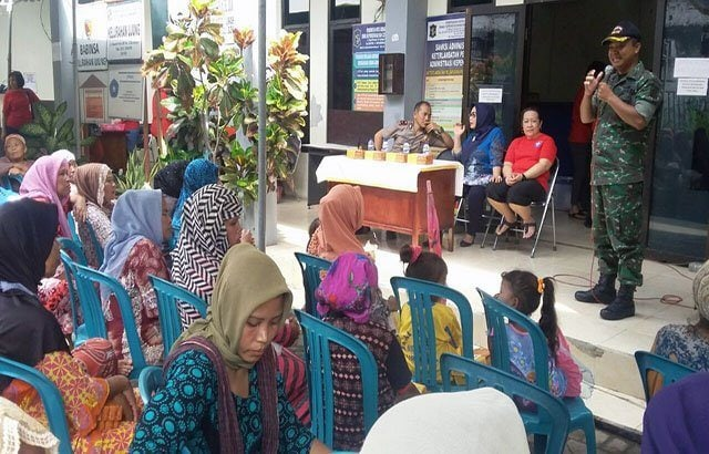 Muspika Semampir Gelar Baksos ke Warga Ujung Surabaya