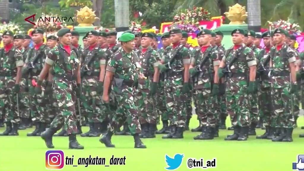 PANGDAM JAYA PIMPIN UPACARA HUT KE 67 KODAM JAYA DI JAKARTA