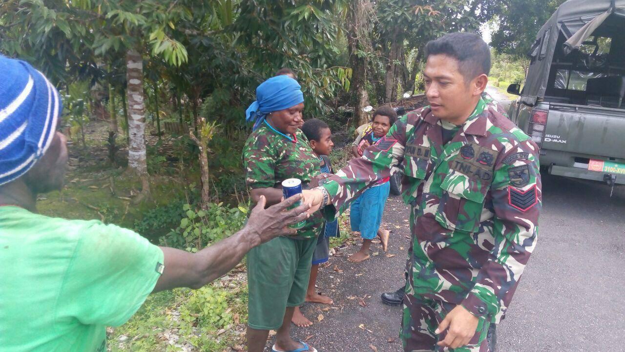 Kehadiran TNI Merupakan Spirit Tersendiri Bagi Masyarakat