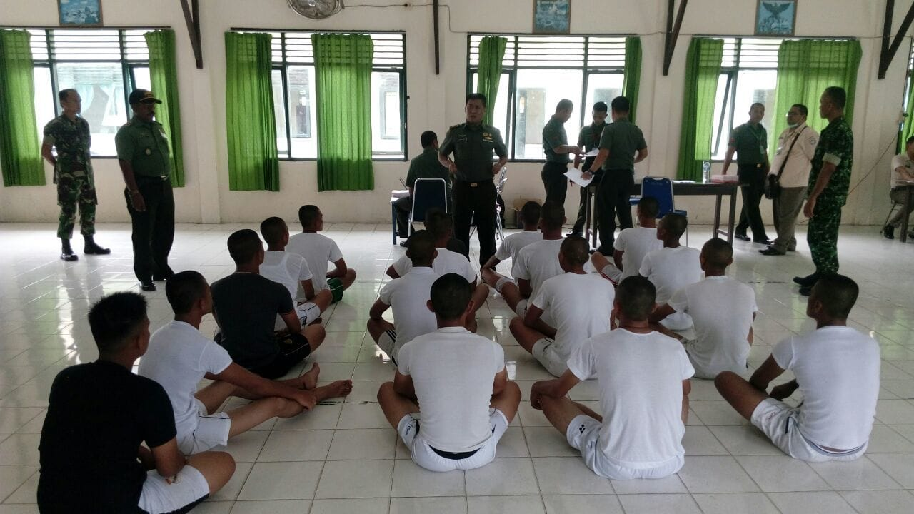 Kodim 0109/Aceh Singkil Laksanakan Seleksi Secata Khusus Pulau Terluar