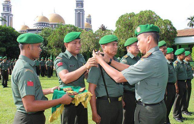Jabatan Danpos Ramil Jajaran Kodim 0108/Agara Diserahterimakan