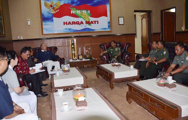 Pangdam IM Apresiasi Yayasan Bunda Suci Bantu Bangun 2 Sekolah di Pidie Jaya
