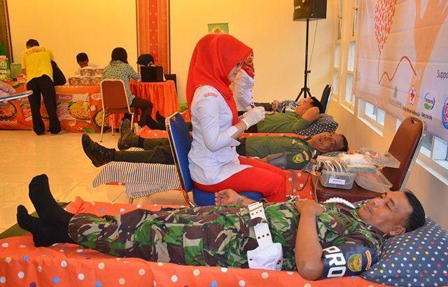 Donor Darah, Wujud Nyata Kepedulian TNI Terhadap Masyarakat