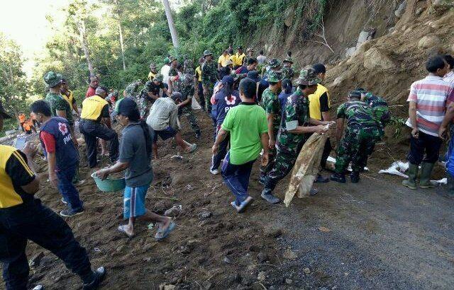 Desa Gegelang Tidak Terisolir Lagi Berkat TNI
