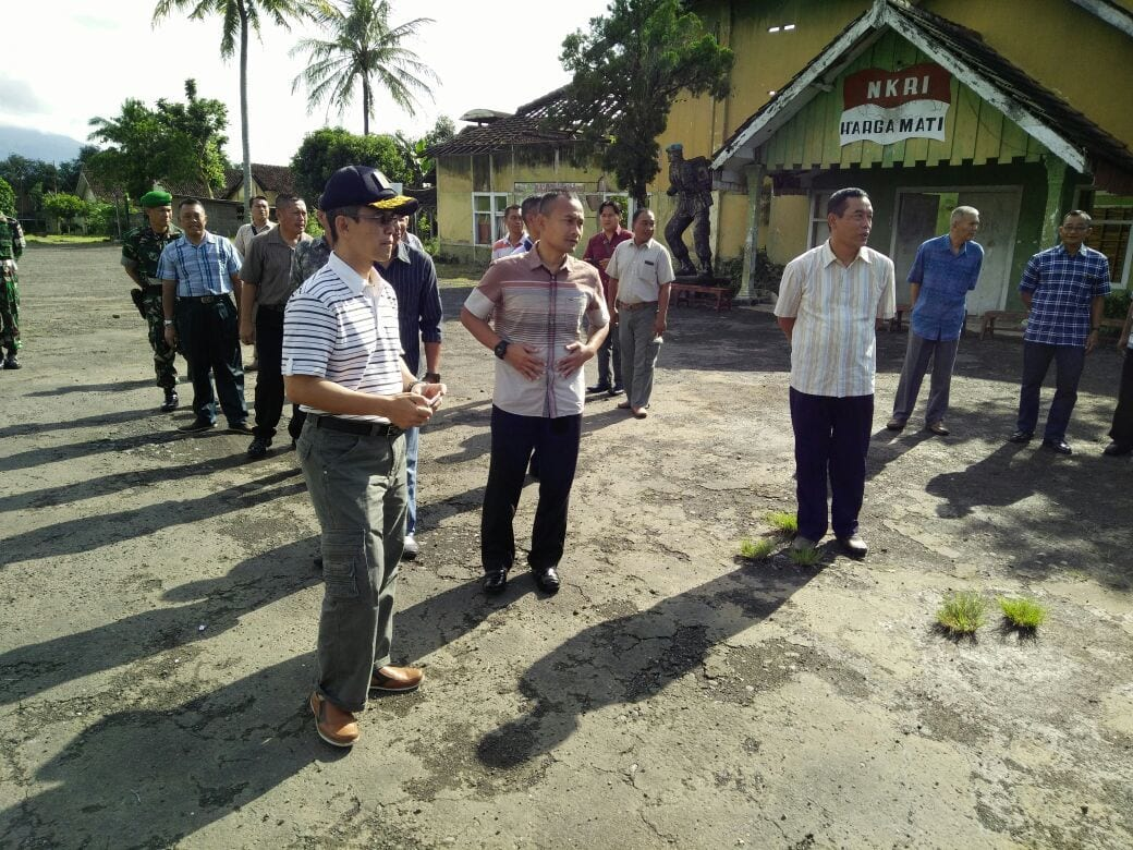 Danrem 083/BDJ Cek Aset TNI AD di Bondowoso
