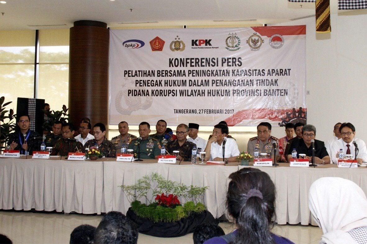 Panglima TNI : Tahun Ini, TNI Konsentrasi Bersih-Bersih Korupsi