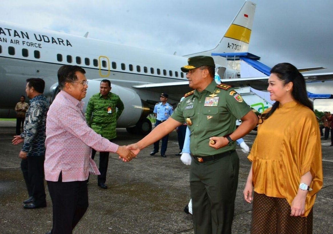 TNI dan Polri Bersinergi, Kunjungan Wapres Aman