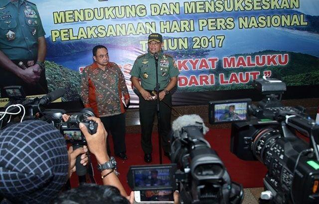 """Panglima TNI : """"Insan Pers Adalah Pahlawan Pejuang"""""""