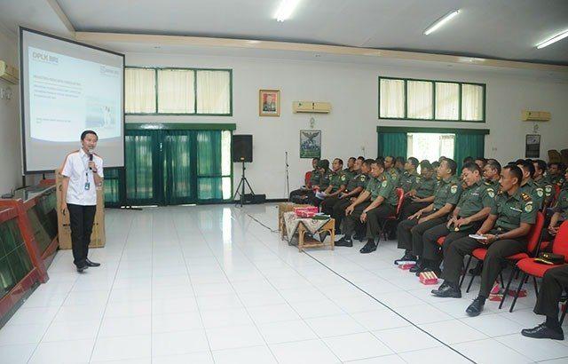 Personel Korem 063/SGJ Terima Sosialisasi Dana Pensiun Lembaga Keuangan