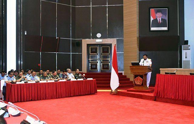 Kasum TNI : Rakorops TNI Diharapkan Tercipta Kesinambungan Siklus Peningkatan Kemampuan TNI