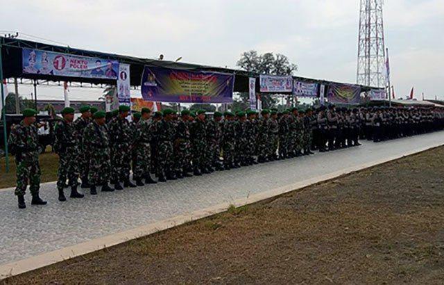 553 Personil Gabungan TNI/Polri Siap Amankan Kampanye Terbuka di Aceh