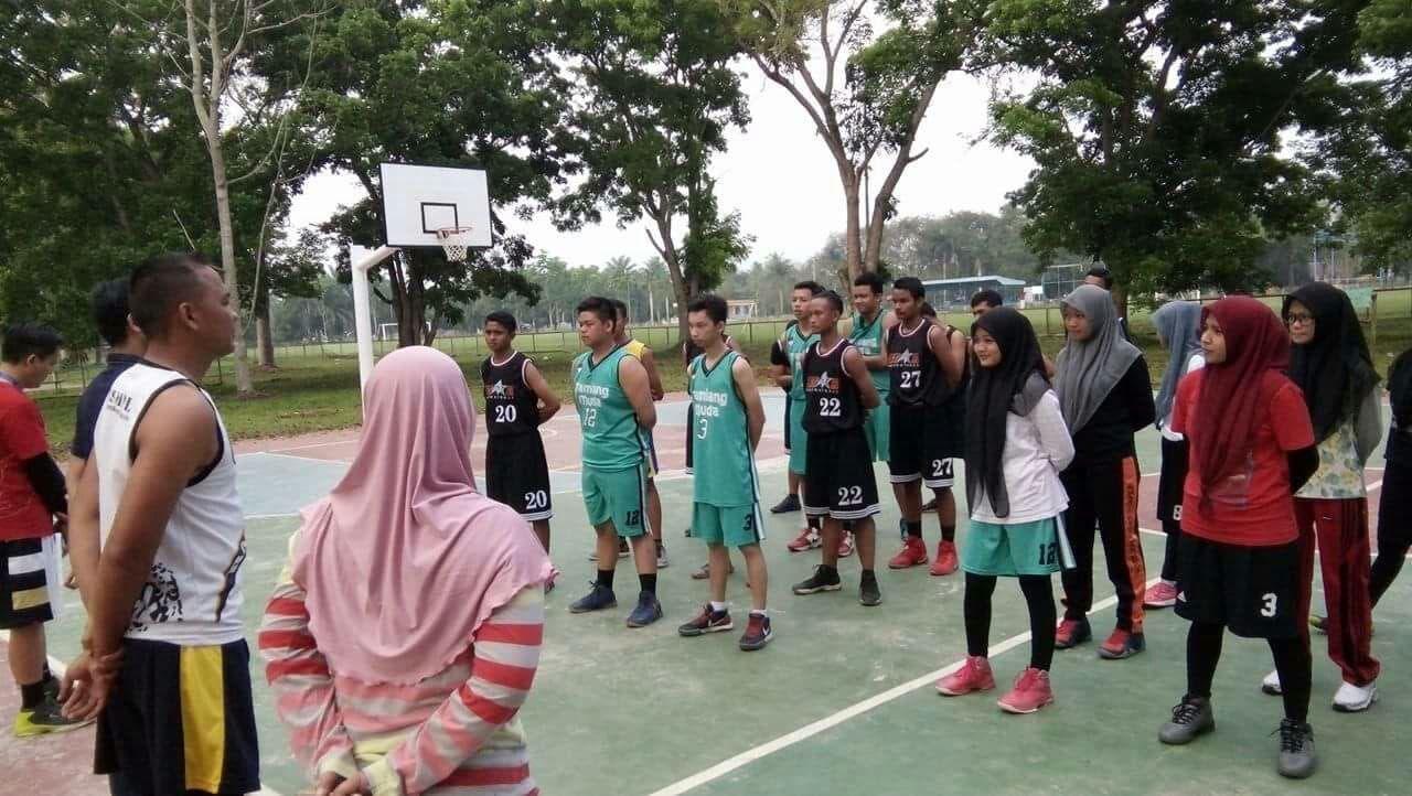 Perbasi Aceh Tamiang Gandeng Yonif Raider 111 Seleksi Atlet Basket Pra Pora