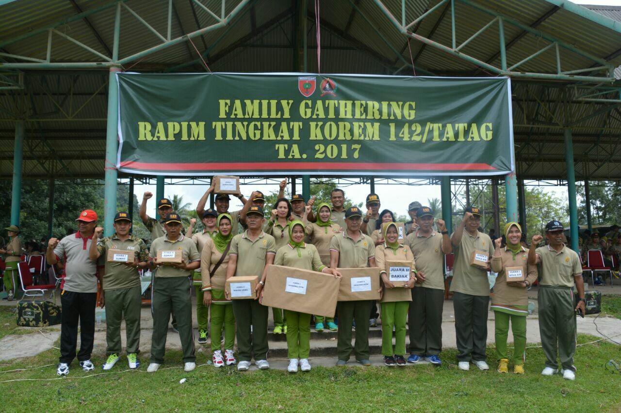 Family Gathering Warga Korem 142