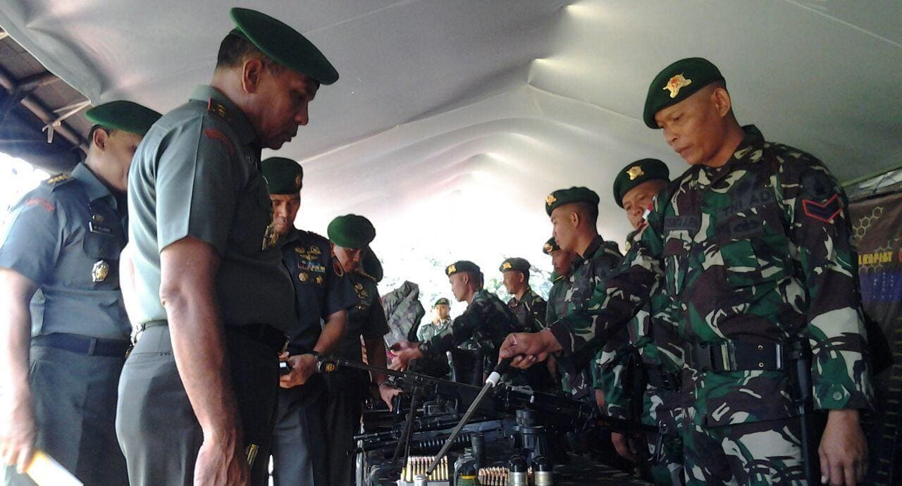 Pangdam V/Brawijaya Inspeksi Pasukan Penjaga Perbatasan