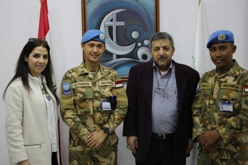 Prajurit Garuda Hadirkan Lampu Tenaga Surya Bagi Masyarakat Lebanon