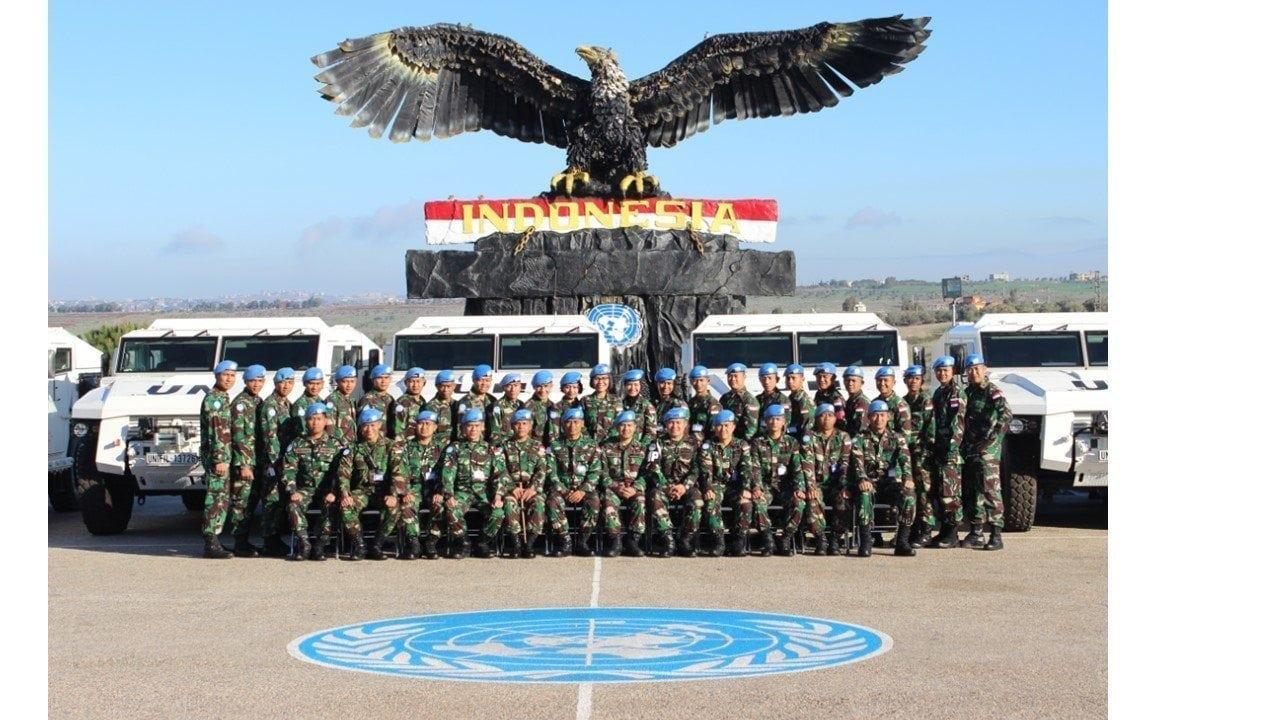 Komandan Maritim Task Force (MTF) Kunjungi Wilayah Blue Line