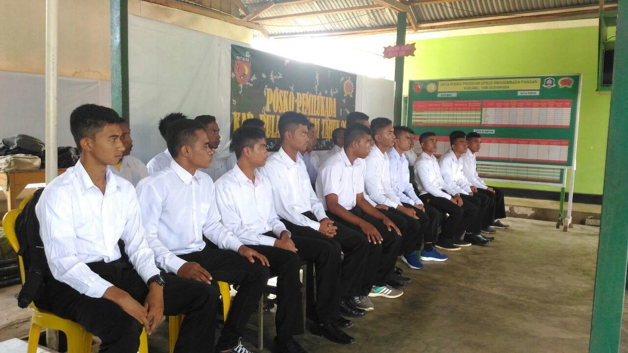Bentuk Perhatian TNI Kepada Pemuda Pulau Terluar, Kegiatan Werving Secata Digelar