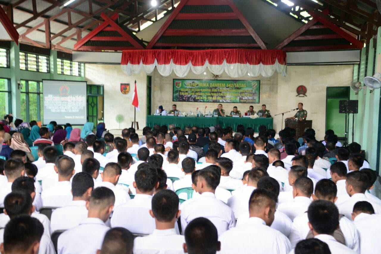 """290 Pemuda Parepare Akan """"Bertarung"""" Ikuti Seleksi Secata PK"""