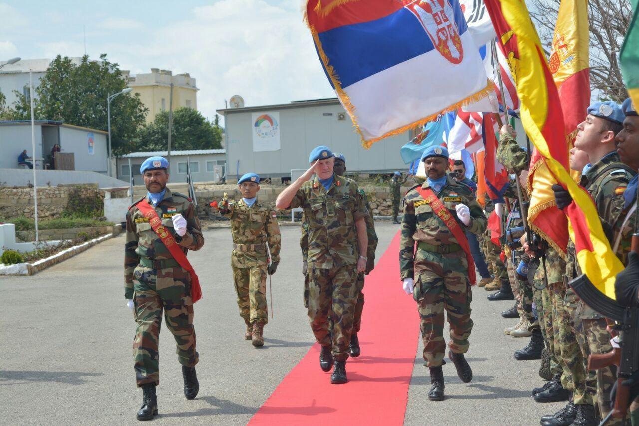Dansatgas Kontingen Garuda UNIFIL Menghadiri UNIFIL Establishment Day 2017