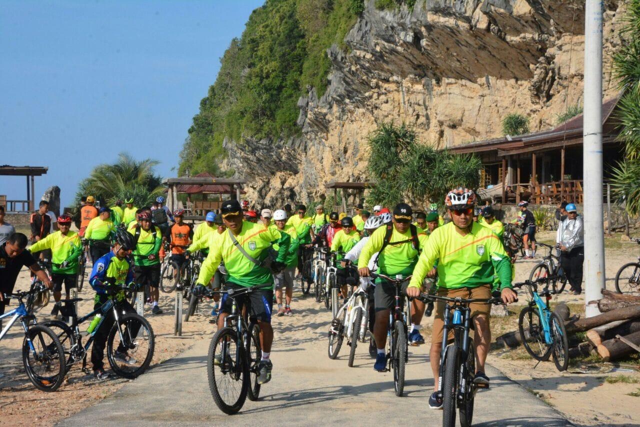 Gelar Gowes Akhir Pekan Secara Rutin, Tunjukkan Bahwa Aceh Aman Dan Nyaman