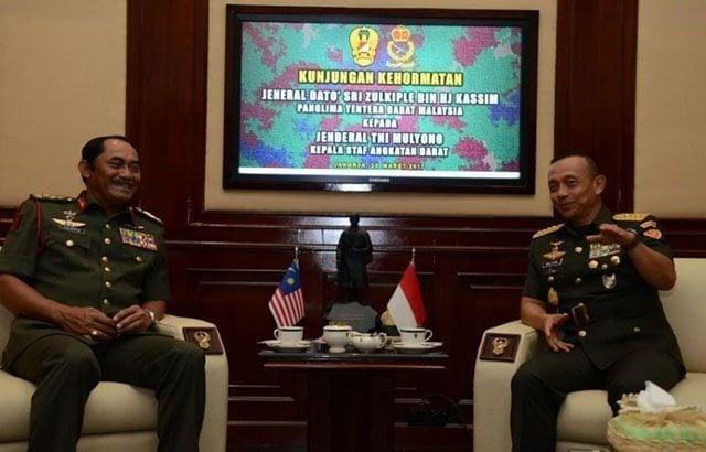 Tingkatkan Hubungan, Panglima Tentara Darat Malaysia Kunjungi Mabesad