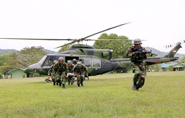 Gelar Latihan Evakuasi Udara Medis Agar Prajurit Profesional atasi Bencana