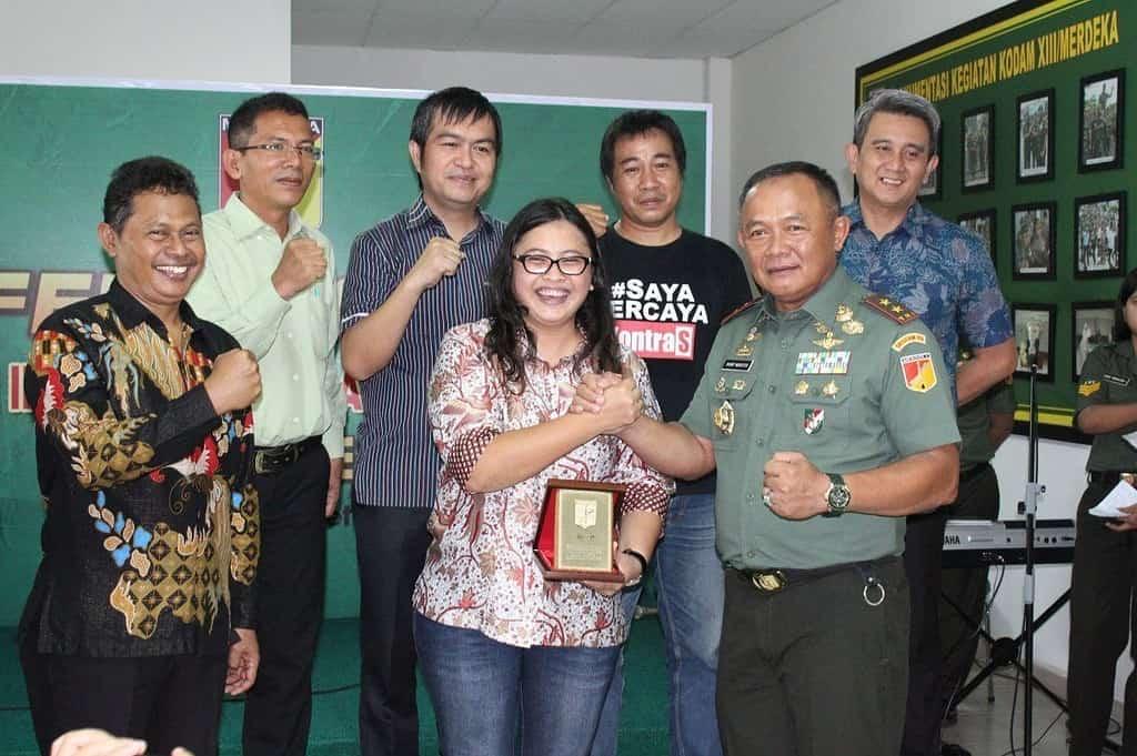 """Pangdam XIII/Merdeka Resmi Launching Website """"Jaya Sakti"""""""