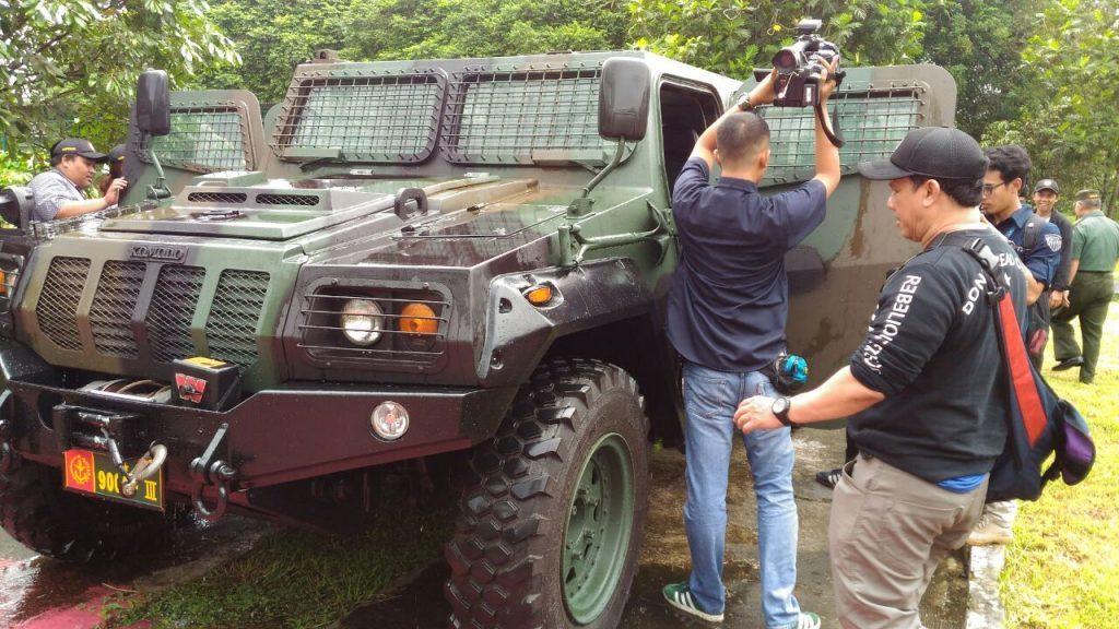 Laboratorium Dislitbang Ujikan Materil Alkap TNI AD