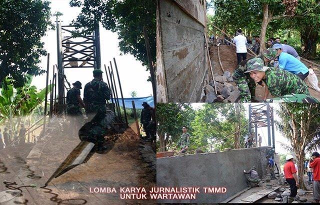 TNI AD Gelar Lomba Karya Jurnalistik TMMD Untuk Wartawan