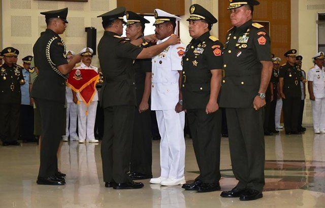 Panglima TNI : Pejabat Baru Harus Tingkatkan Kinerja dan Kemajuan Organisasi