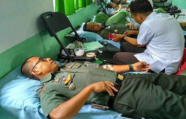Denbekang Parepare Sumbang 68 Kantong Darah.