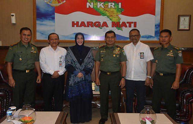 Pangdam IM Terima Audensi Walikota Banda Aceh